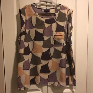 Gap geometric blouse XXL
